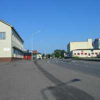 Säkylä centre and street in Finland