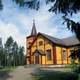 Sievi Church building in Finland