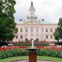 The old Town Hall of Pori in Finland