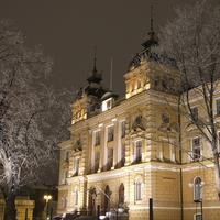 Oulu City Hall building in Finland