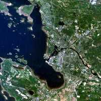 Satellite Image of Oulu in 2007