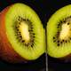 Kiwi Neatly sliced in Half