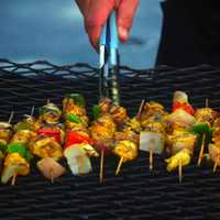 Barbeque Kabobs Food