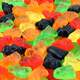 Colored Gummy Candy