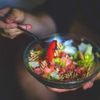 Colorful Noodles Salad