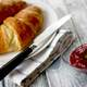 Croissant  bread with Jam