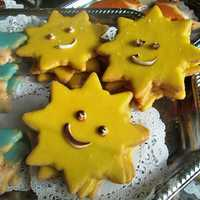 Happy Star Cookies