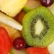 Kiwi with mixed fruit