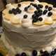 Lemon Cake with Blueberries