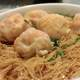 Noodle soup with Shrimp Dumplings