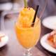 Orange mango Smoothie dessert