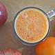 Orange Smoothie in Cup