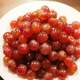 Plate of Red Grapes