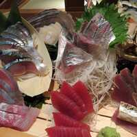 Raw Sliced Tuna Sashimi