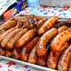 Sausages Food at a Barbeque
