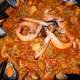 Spicy seafood stew and soup
