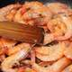 Stirring Tasty Shrimp Dish