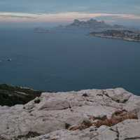 Seaside Landscape by Marseille, France