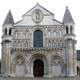 Church of Notre-Dame la Grande in Poitiers, France