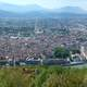 Pano Grenoble cityscape in France
