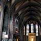 Panoramic view of the Perpignan Cathedral in France