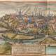 Poitiers in the 16th century drawing in France
