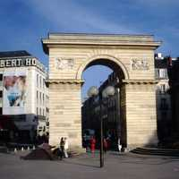 Porte Guillaume in Dijon, France