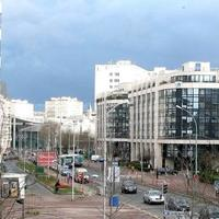 Rue Rouget de Lisle in the Val de Seine business district in Issy Les Moulineaux, France