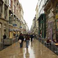 Rue Sainte-Catherine in Bordeaux, France