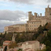 Saint-Nazaire cathedral in Beziers, France