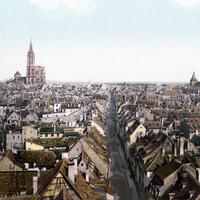 Strasbourg in the 1890s Cityscape, France