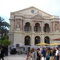 The Toulon Opera House in France