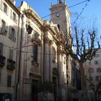 Toulon Cathedral building in France
