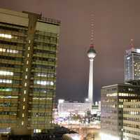 Berlin TV Tower within the City