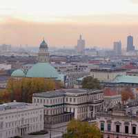 Cityscape skyline view of Berlin, Germany