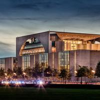 Federal Chancellery in Berlin, Germany
