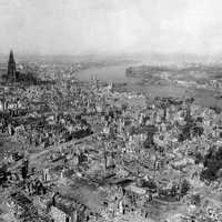 Cologne After the Bombing of World War 2