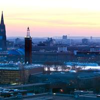 Skyline view of Cologne