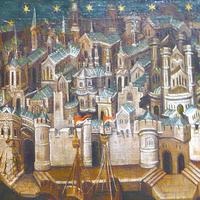 The city of Cologne in 1411