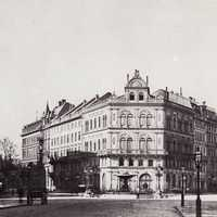 Hertel Kaiserplatz in 1880
