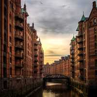 Beautiful Photo of Speicherstadt in Hamburg, Germany