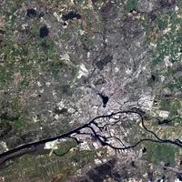 Hamburg from space