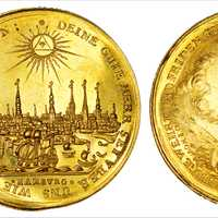 Hamburg on a Coin