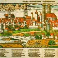 Munich during the 1500s