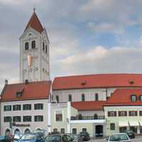 The Moosburg building in Munich