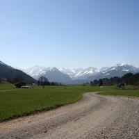 Scenic Allgau Alps View in Germany