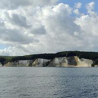 Sea Cliffs on the Baltic Sea in Germany