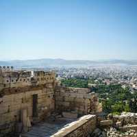 Athens, Greece from the Acropolis
