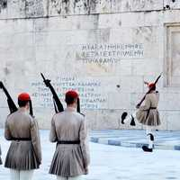 Changing of the Guard in Athens, Greece