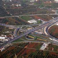 Highway System in Athens, Greece